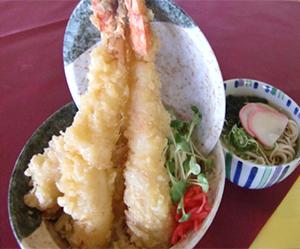 大海老天ぷらタワー丼