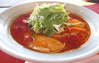 トマトスープラーメン